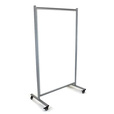 """Offex Free-Standing Whiteboard, 6'2"""" x 3'3"""""""