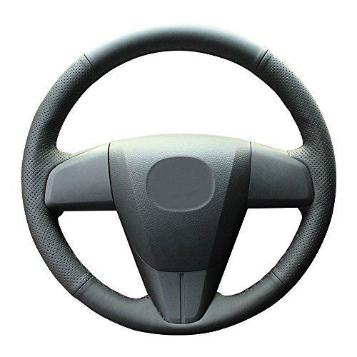 Eiseng Car Steering Wheel Cover For 2010 2011 2012 2013 Mazda 3 2012 2013 Mazda 6 2012 2015 Mazda Car Steering Wheel Cover Steering Wheel Cover Mazda Cx 9