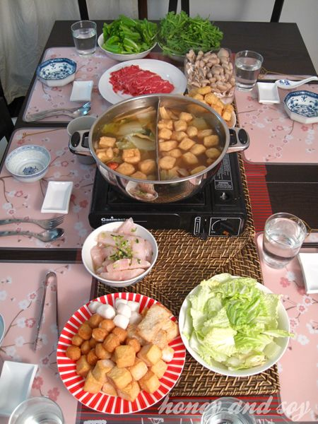 Best steamboat dinner with recipe for sauces