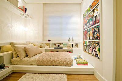 Arqteturas: Quartos e camas baixas