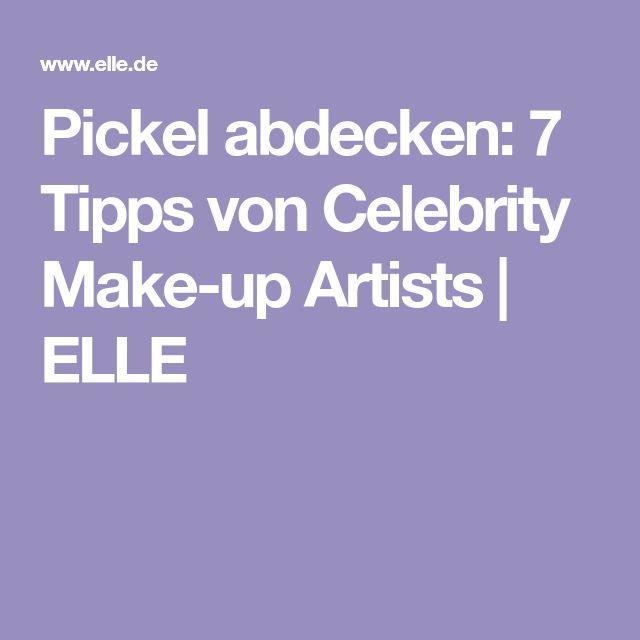 Pickel abdecken: 7 Tipps von Celebrity Make-up Artists | ELLE