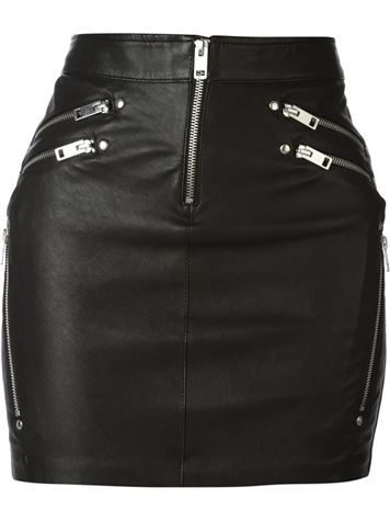 Diesel L-Yusra Leather Skirt 💥50% off