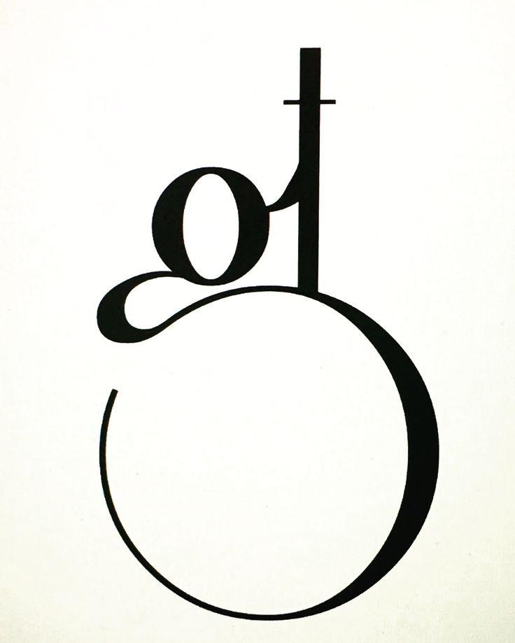 GT monogram, monogramma