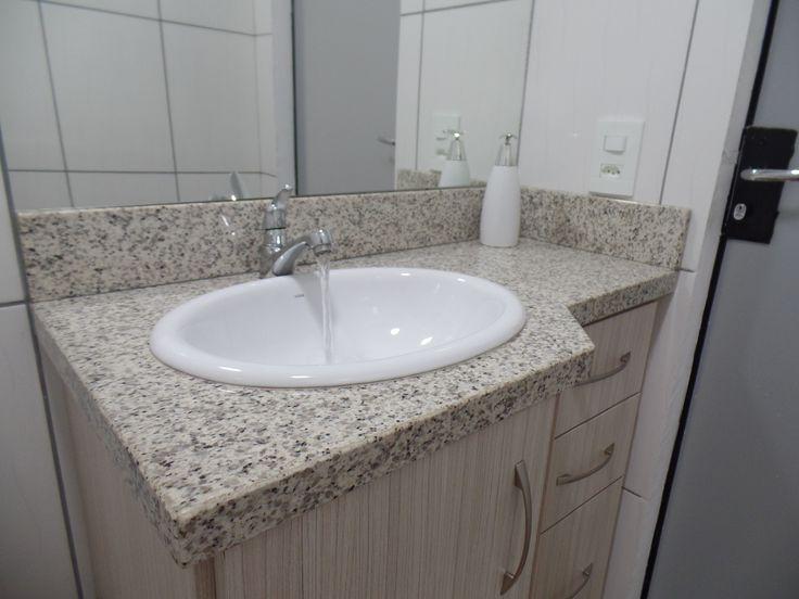 1000+ ideas about Bancada De Granito on Pinterest  White Granite, Granito Pr -> Cuba Para Banheiro Em Volta Redonda