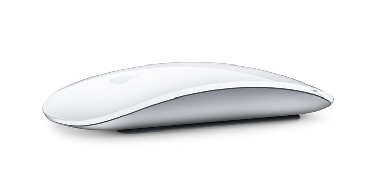 Perform simple gestures on the smooth, seamless Apple Magic Mouse 2. Wireless and fully rechargeable.