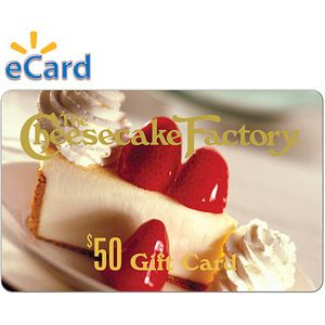 The Cheesecake Factory $50 (email delivery)