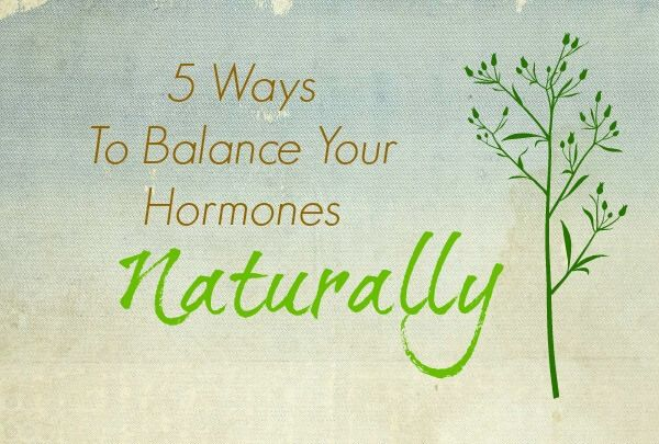 Learn 5 ways you can balance your hormones naturally so symptoms like bloating, cramps, headaches, irritability, and more disappear.