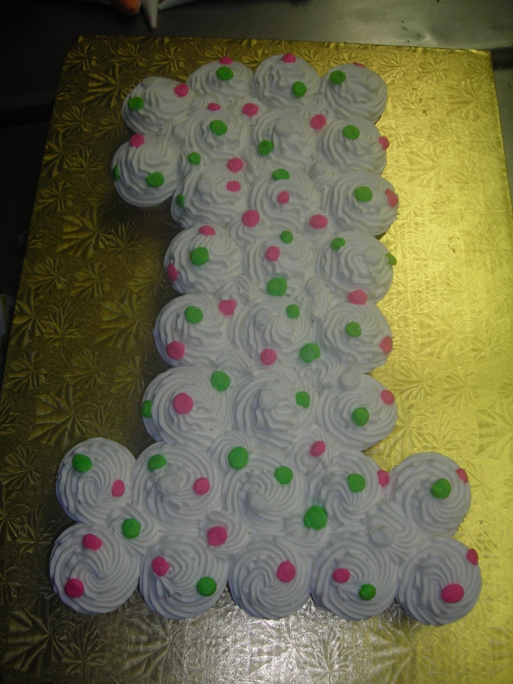 First birthday cupcakes- can't help but start planning already! @Rachel Cochenour