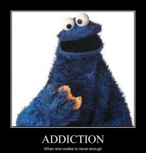 My name is ______ and I am a cookieholic.