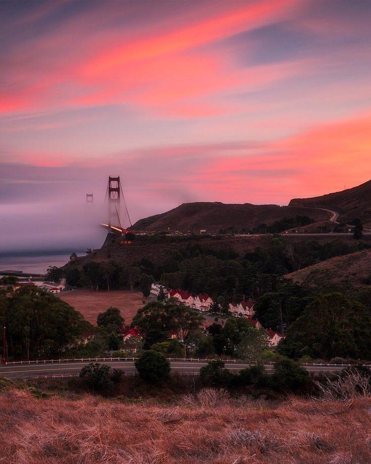 San Francisco Fog Map Live%0A Golden Gate Bridge San Francisco by  bruceGetty  sanfrancisco  sf  bayarea   alwayssf