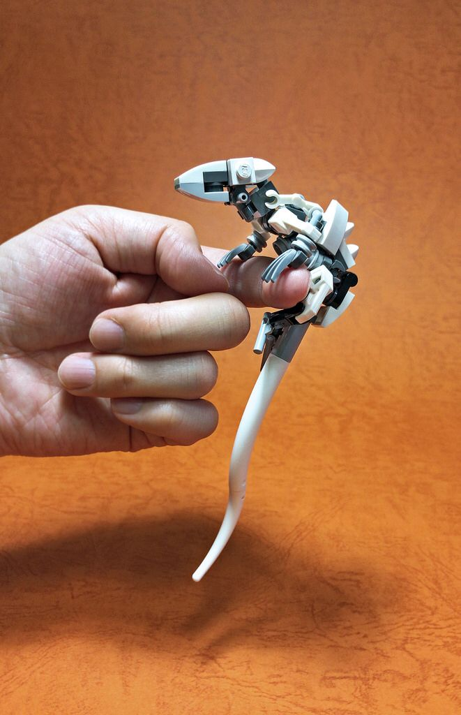 LEGO Lizard - seriously, how awesome is this model and photo? I love it!