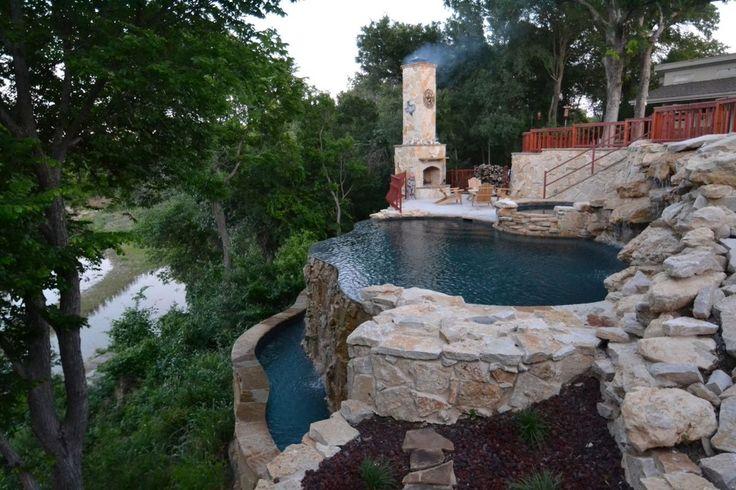 37 Diverse Backyard Swimming Pool Ideas Photos The O