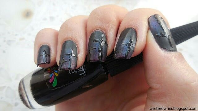 #Werterownia #nails #cmentarz #paznokcie #nailart