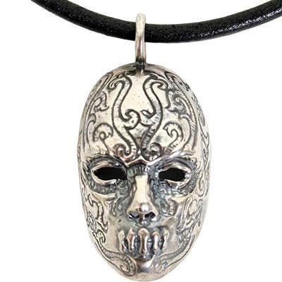 Bellatrix Lestrange's Death Eater mask in pendant form.