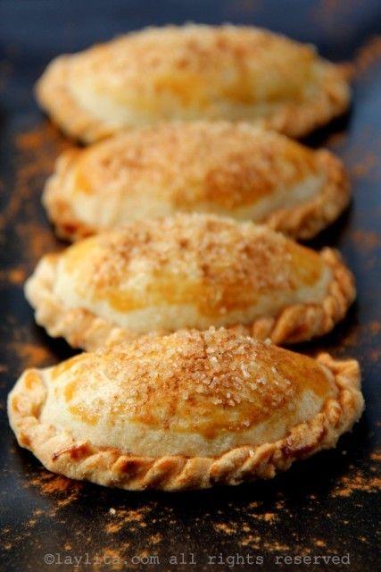 Empanadas dulces con relleno de cabalazo o zapallo