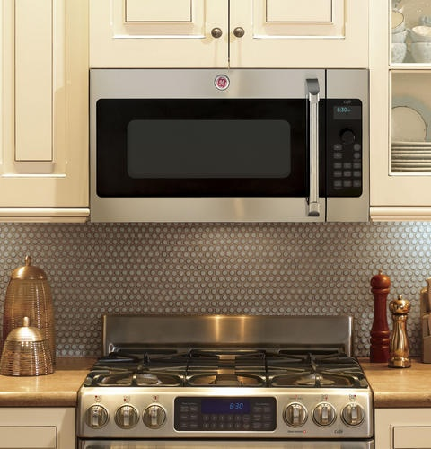 1000 Ideas About Above Range Microwave On Pinterest Microwave Above Stove Over Range