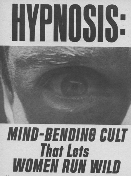 Hypnosis - look into my eye...