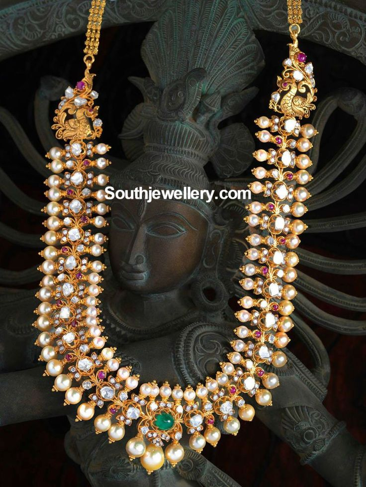 Polki South Sea Pearl Necklace