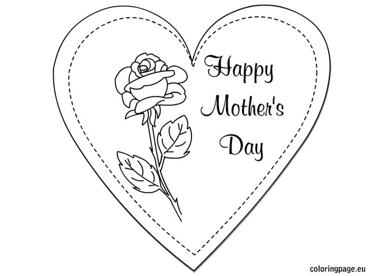 75 best Motheru0027s Day images on Pinterest Motheru0027s day, Happy - best of i love you mommy and daddy coloring pages