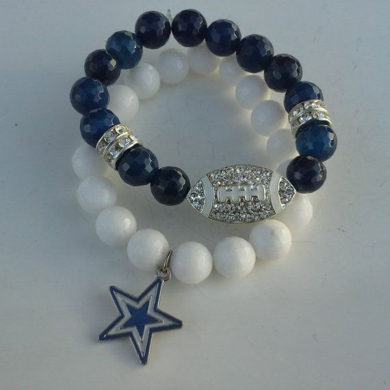 Dallas Cowboys Charm Bracelet by FUNK2011 on Etsy, $17.95