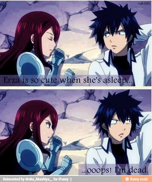 Fairy Tail Erza And Gray Episode 129