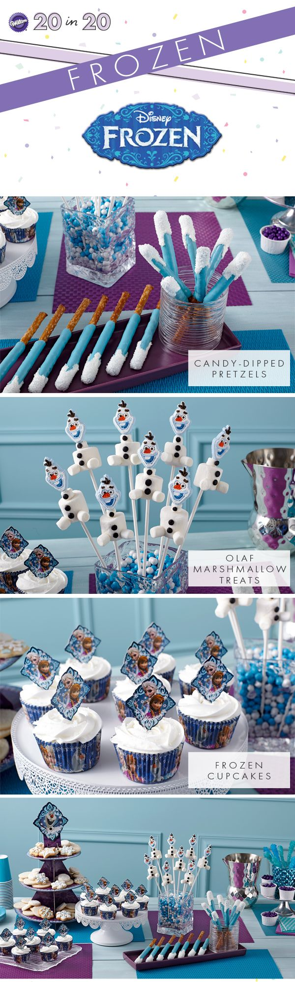 We have the coolest Frozen products and ideas so you can celebrate with Anna, Elsa, and the rest of the Frozen gang all year long.