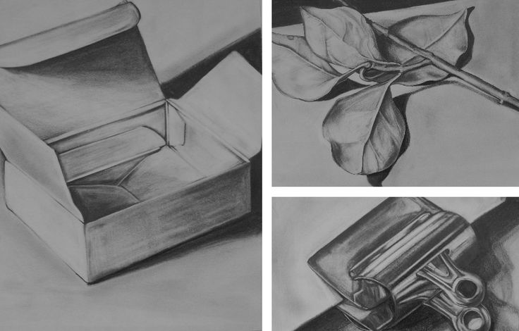 drawing simple november objects object drawings value pencil anna horner maria 2006 form born