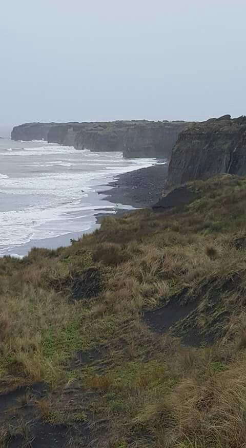 Cliffs at Patea Beach South Taranaki