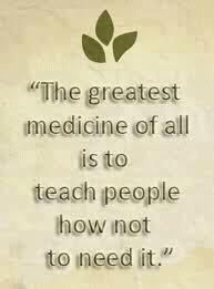 """The doctor of the future will give no medicine, but will interest his patients in the care of the human frame, in diet, and in the cause and prevention of disease.""~Thomas Edison, Inventor    ""It is more important to know what sort of person has a disease than to know what sort of disease a person has.""~Hippocrates  www.lovehealsus.net"