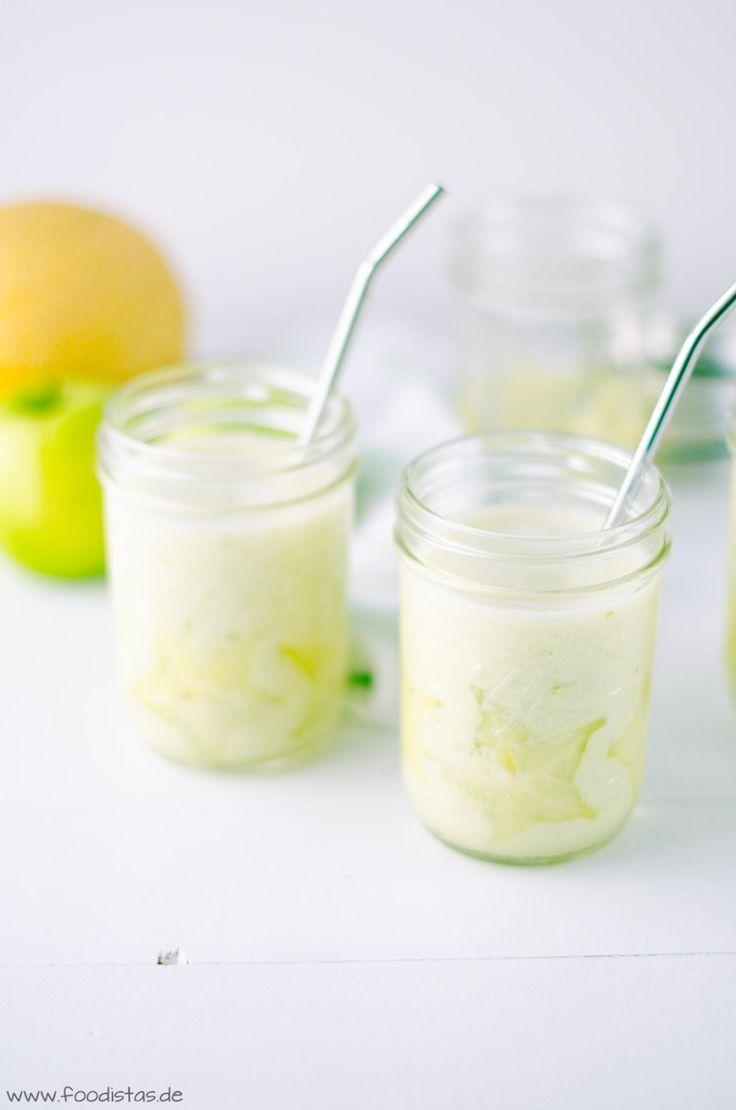 White Smoothie - Smoothie mit Apfel und Banane - von den [Foodistas]