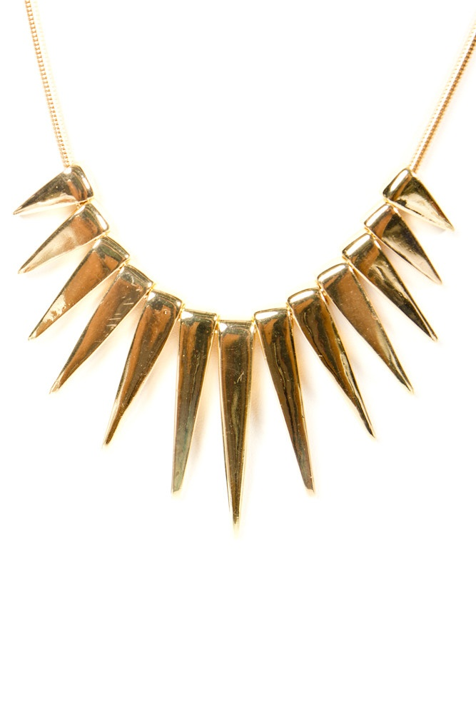 Gold! spikes!