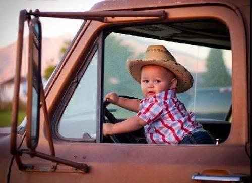 yupBaby Cowboy, Back Roads, Country Boys, Old Trucks, The Farms, Baby Boys, Baby Girls, Dirt Roads, Little Boys