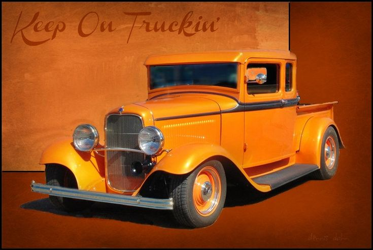 1932 Ford Hot Rod Pickup.