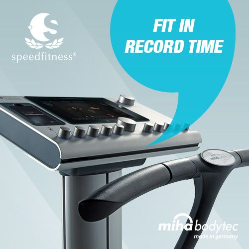 20 minutes training - once a week Visible results in 6 weeks! #mihabodytec #mihabodytecII #emsworkout #personaltraining #bodyshaping #weightloss #musclebuliding #electrostimulation More information: www.miha-bodytec.com www.speedfitness.com