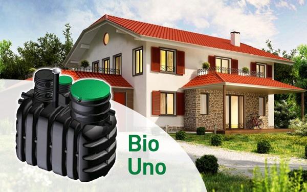 Przydomowa oczyszczalnia ścieków BIO UNO - idealna dla małych gospodarstw