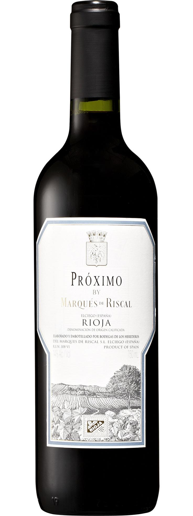 Marqués de Riscal Próximo Rioja - at $10 a bottle, reasonable quaffer