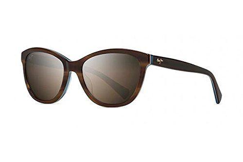 Maui Jim Maui Canna HS769-03T Womens Sunglasses Glasses Tortoise White and Blue--151.22