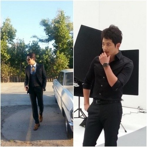 Park Shi Hoo  (박시후 / Park Si Hoo) Spotted Participating in a Photoshoot.  It such a relieved to see him doing his activity like usual. ^^