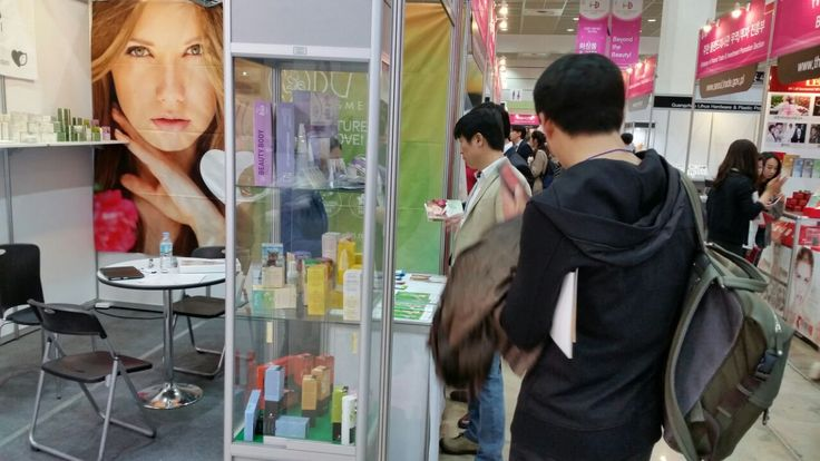 Bema Cosmetici at Cosmobeauty in Seoul, Korea.