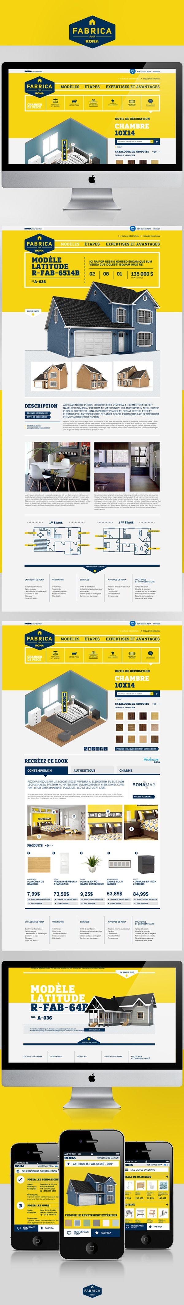 Fabrica by Elisabeth Dumont-Mackay Website design layout. Inspirational UX/UI design sample. Visit us at: www.sodapopmedia.com #WebDesign #UX #UI #WebPageLayout #DigitalDesign #Web #Website #Design #Layout