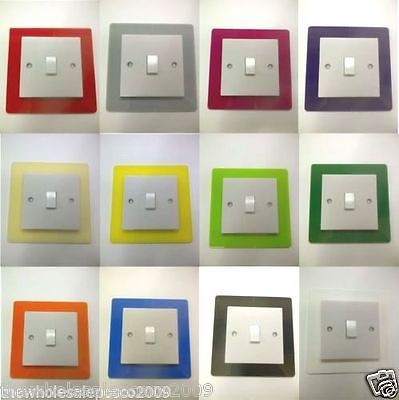 accessorise your lightswitch to match the rooms what colour would you get