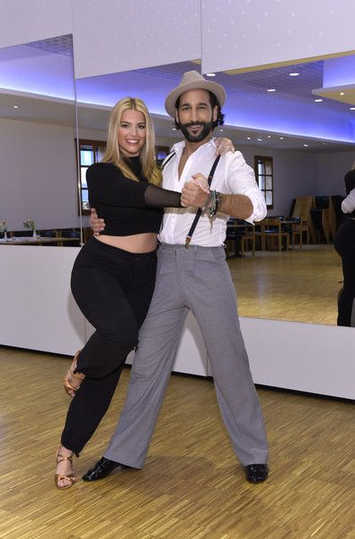 Angelina Kirsch Photos Photos - Angelina Kirsch and Massimo Sinato pose at a photo call for the tenth season of the television competition 'Let's Dance' on March 9, 2017 in Neumuenster, Germany. From March 17th, the show, in which celebrities compete at dancing, will air weekly on the German network RTL. - Angelina Kirsch Trains for 'Let's Dance' in Neumuenster