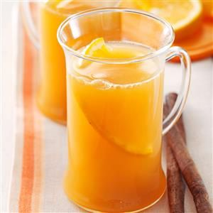 Cider Wassail Recipe -This wassail recipe came from a dear friend in Fort Wayne, Indiana, where we lived for many years. Since it's warm, wonderful and non-alcoholic, we've even served it at church. It's also perfect for a holiday open house. —Maryellen Hays, Wolcottville, Indiana