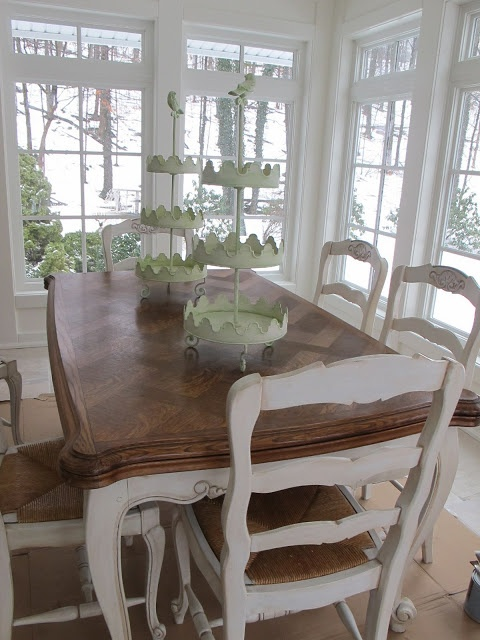 Best Paint Dining Tables Ideas On Pinterest Distressed