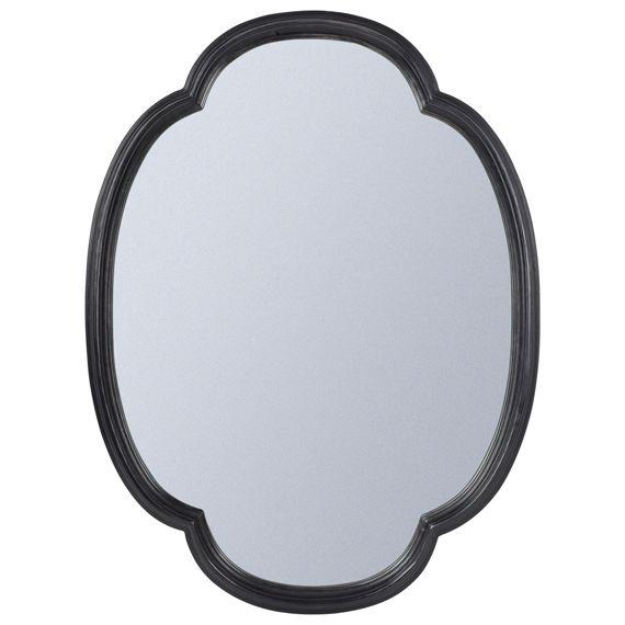 Sorrel Mirror - Black | Oka