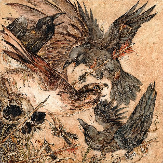 """Preview: Allison Sommers, Jeremy Hush and Susannah Kelly's """"Irresistible Atrophy"""" at Antler Gallery   Hi-Fructose Magazine"""