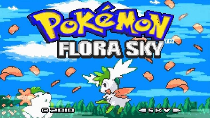 In Pokemon Flora Sky, since a portal was opened between Torn World and real world, Giratina the cruel legendary Pokemon was able to escape from his parallel dimension. Our world is in great danger and you must at all costs close the portal before it is too late... Have fun playing with Pokemon!