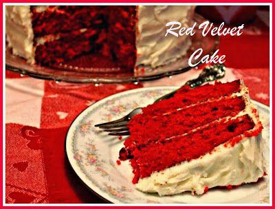 Sweet Tea and Cornbread: Southern Red Velvet Cake!