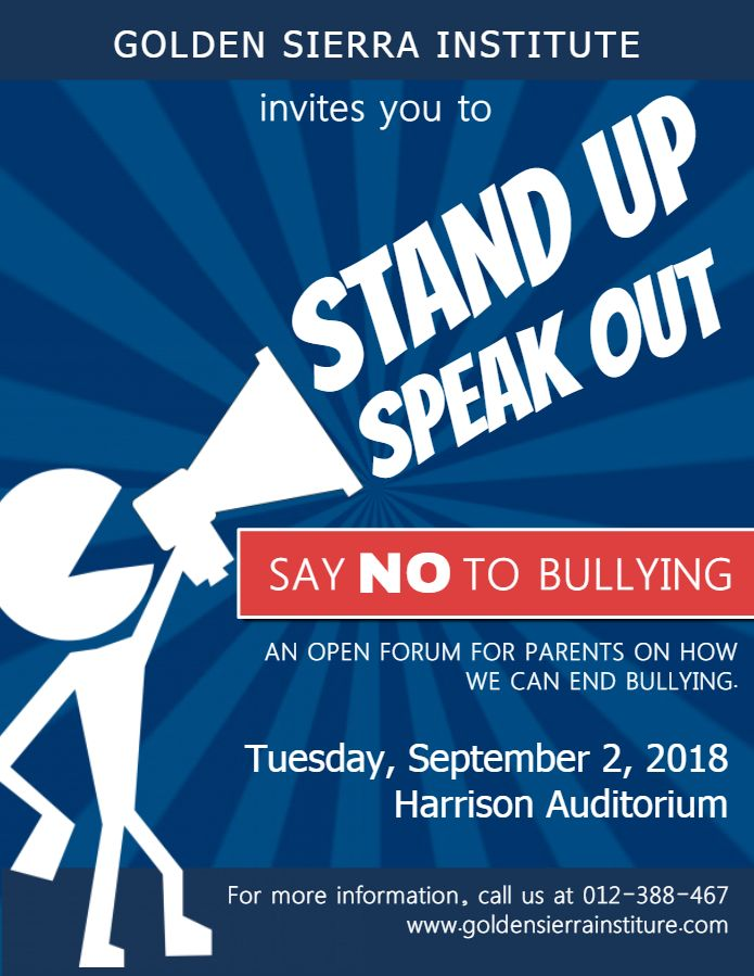 Anti Bullying Conference Event Poster Template With Images Anti Bullying Bullying Bullying Posters