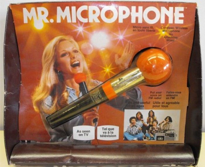 RONCO: 1979 Mr. Microphone #Vintage #Toys